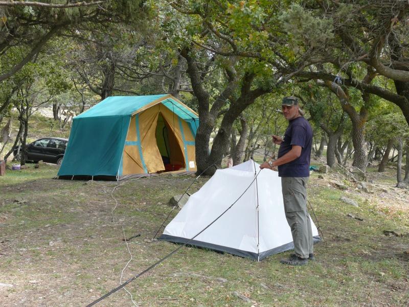 наши палатки. Малый Утриш.